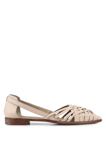 TOPSHOP pink Abstract Woven Shoes 2F244SHB2B22C8GS_1