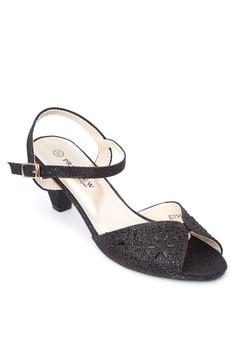 Peep Toe Strap Sandals