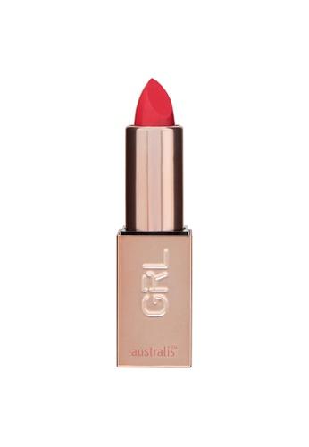 Australis red and pink Australis GRLBOSS Matte Lipstick A-Line F0ECCBE97C7412GS_1
