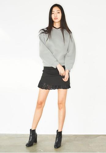 蕾絲esprit 尖沙咀拼接迷你短裙, 服飾, 裙子