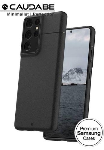 Caudabe black Case Samsung Galaxy S21 Ultra 5G - Caudabe Sheath Casing - Black CEFCCESB5EA66EGS_1