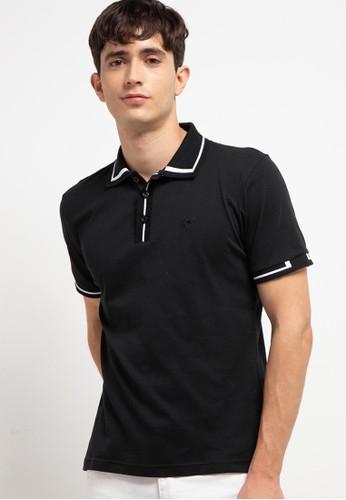 Country Fiesta black Men'S Polo Shirt E2147AAA486A3AGS_1