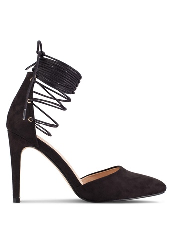 ZALORA black Lace Up Pumps E1100SHFEAEBA2GS_1
