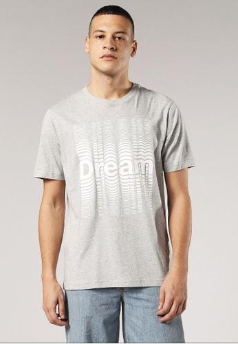 Diesel grey T-Just-Se Regular Fit T-Shirt E9239AA1D472D8GS_1