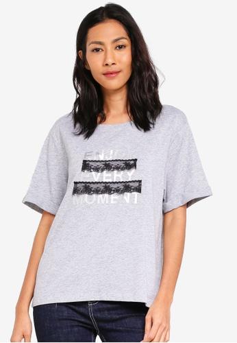 ESPRIT grey Short T-Shirt C880DAA36E5E09GS_1