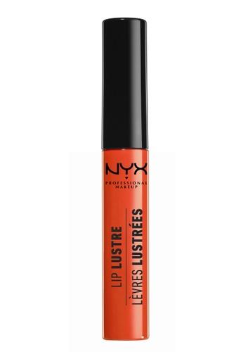 NYX Professional MakeUp orange Lip Lustre Glossy Lip Tint - Juicy Peach E7EA8BE35F250CGS_1