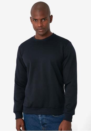 Trendyol navy Regular Fit Sweatshirt 2E336AA3F50DECGS_1
