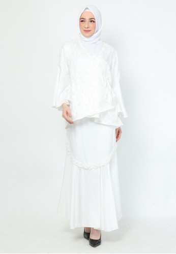 BellyBee white Willo Set - Blouse & Skirt 82967AADC14877GS_1