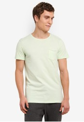 Cotton On green and multi The Staple Tee CO372AA0S4ACMY_1