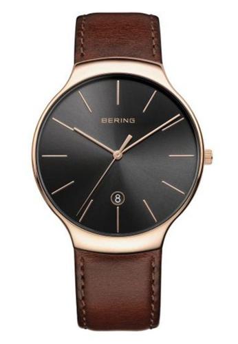 Bering brown Classic 13338-562 Brown 38mm Men's Watch AC097ACAC4AF78GS_1