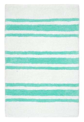 Living DNA Stripe Teal Bath Carpet 35463HLB5F69F5GS_1