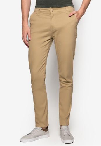 簡約休閒窄管長褲, 服飾, esprit 旺角服飾