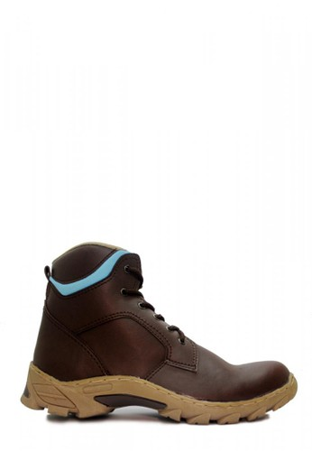 Cut Engineer brown Cut Engineer Safety Boots Iron Prospector Leather Dark Brown 96793SHA8D125BGS_1