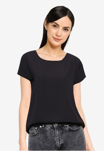 ONLY black Nova Lux Top A8233AA7A9F52EGS_1