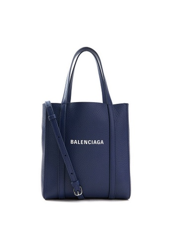 Balenciaga blue Balenciaga Everyday Xxs  Tote Bag in Dark Blue 9DDA9AC188A4ACGS_1