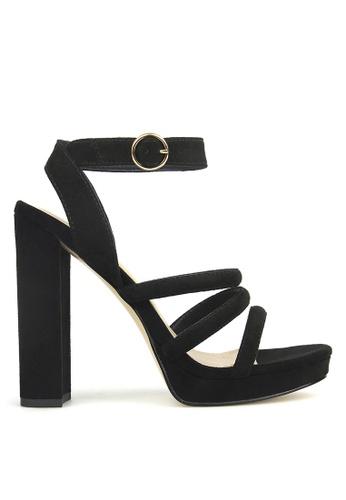 Betts black Emma Platform Heeled Sandals A2EC1SH69FEB12GS_1