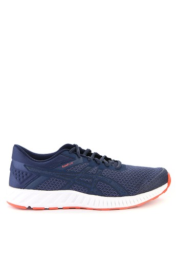 Asics multi and navy Fuzex Lyte 2 Running Shoes AS436SH0WEXEID_1