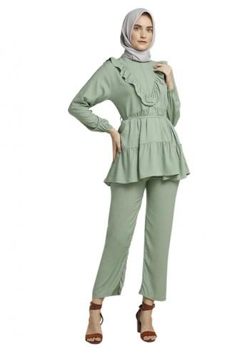 TITAN'S WARDROBE green Mint Macaron Daily Set 80542AA17208CBGS_1