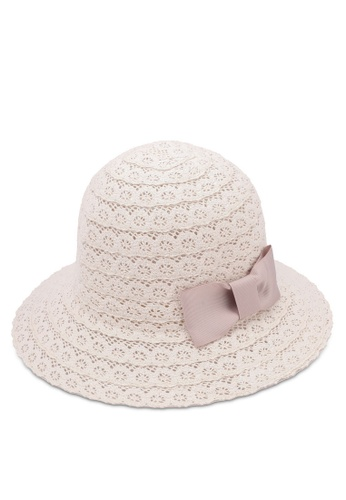 Dandelion white Cotton Lace Sun Hat DA944AC0S0XEMY_1