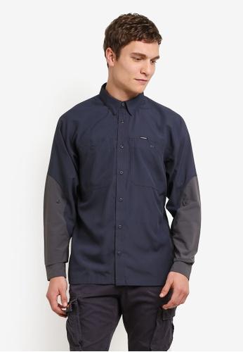 Patagonia blue Lightweight Field Shirt PA549AA0RQBYMY_1
