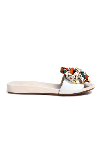 Shu Talk 多色 復古型格涼鞋 D8CEESH62CAF4CGS_1