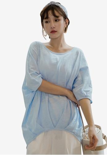 Tokichoi blue Basic Light Top 503EAAA2119798GS_1