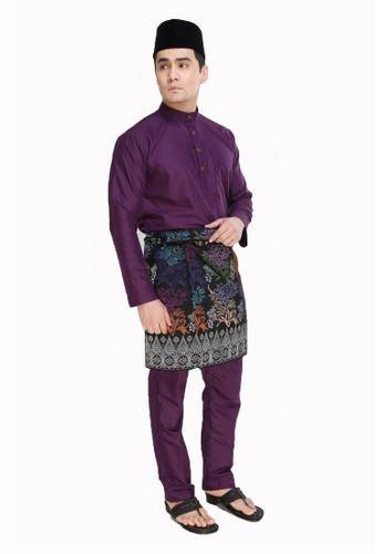 Amar Amran purple Baju Melayu Moden F587CAA229D5BDGS_1