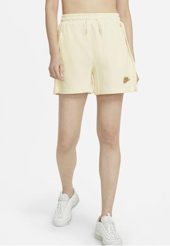 Nike white Earth Day Shorts CFCF0AA95849B0GS_1