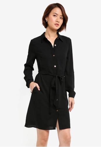 Lipsy black Black Shirt Dress 0D862AA8E61B84GS_1