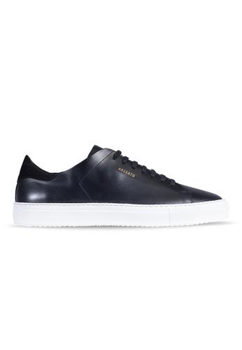Axel Arigato Clean 90 Sneaker 黑色皮革搭配白鞋底 69149SHC78A93FGS_1