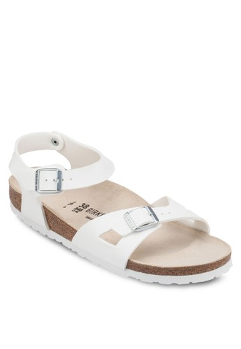 Riesprit 雨傘o 扣環繞踝平底涼鞋, 女鞋, 涼鞋