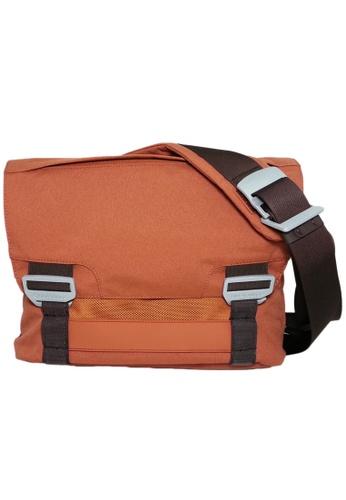 "bluelounge orange Bluelounge Messenger Bag Small - up to 15"" Laptop - Rust BL009AC65JCGSG_1"