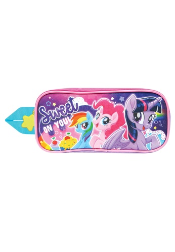 My Little Pony pink and purple My Little Pony Sweet Square Pencil Bag 7759CKC37BF527GS_1