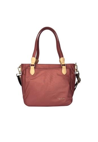 Pierre Cardin pink Pierre Cardin Premium Medium Tote Bag 9EA13AC79893D5GS_1