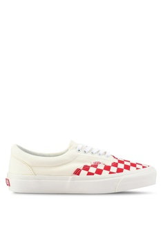 c9c9154530 VANS white and red Era CRFT Podium Sneakers AD6A4SH2C15A2DGS 1
