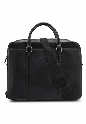 MANGO Man black Multiple Pockets Briefcase BA9CCAC39D2C1BGS_1