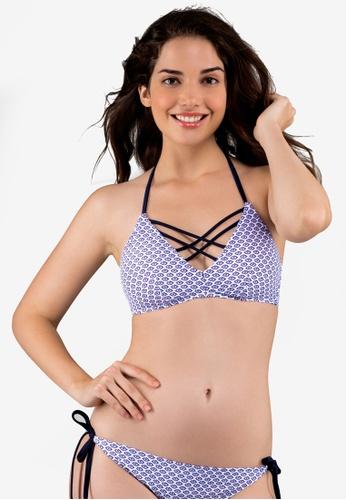 Dorina navy Palomino Triangle Bikini Top 2D946US2D115F5GS_1