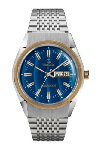 Timex gold Q Timex Falcon Eye Reissue - 38mm Men's Stainless Steel Bracelet Watch- TW2T80800 621D9AC058EF1FGS_1
