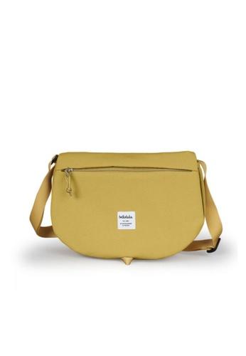 Hellolulu yellow Hellolulu Elvin All Day Shoulder Bag (Mustard Yellow) F62E8AC6C80F24GS_1