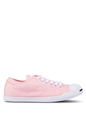 4a4602c0e1c2 Converse pink Jack Purcell Low Profile (Apac) Chambray Textile Ox Sneakers  26FEASHC75A79AGS 1