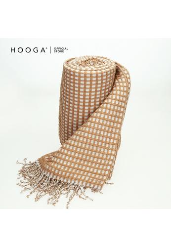 HOOGA Hooga Blanket Wane Tawny Brown FDE69HL9AEC107GS_1