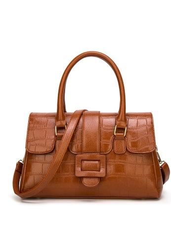 Lara brown Women Medium Top Handle Bag 9AD9FACABD1FCFGS_1