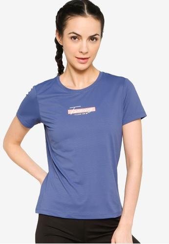 361° blue Cross Training Short Sleeve T-shirt 32151AA09012B8GS_1