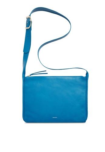 Skagen blue Skagen Anesa Leather Slim Crossbody SWH0227433 SK533AC62CFLMY_1