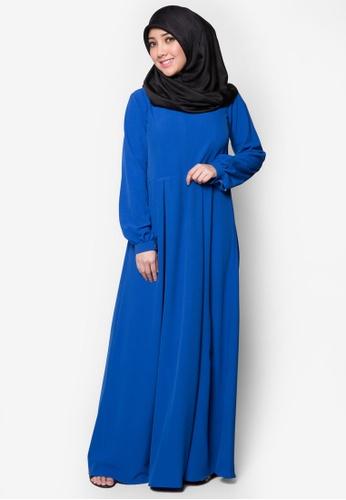 Amar Amran blue Jubah Qhaleeda AM362AA12PTNMY_1