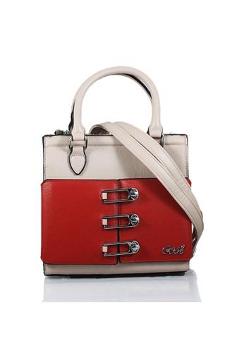 GOSH red Amaryllis-207 Pin Hand Bag 29CBDAC9533263GS 1 4ee126bb7a