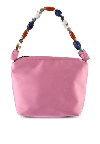 Milliot & Co. pink Ella Top Handles Bag 9BDEDACA9E651AGS_1
