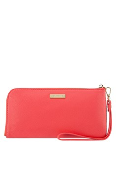 Image of Faux Leather Clutch Wallet