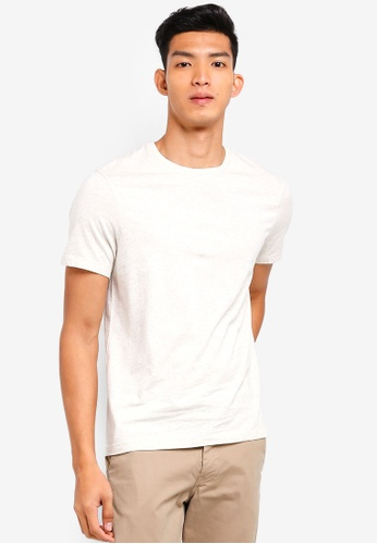 J.Crew white Men's Slim Washed Jersey Crew T-Shirt C23A6AA37FC8CDGS_1