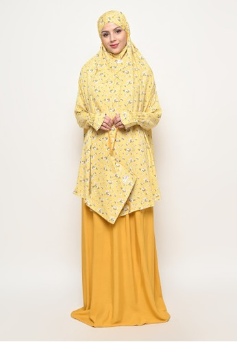 My Daily Hijab yellow Mukena Aisyah Yellow Flower BCA8EAA307A86FGS_1